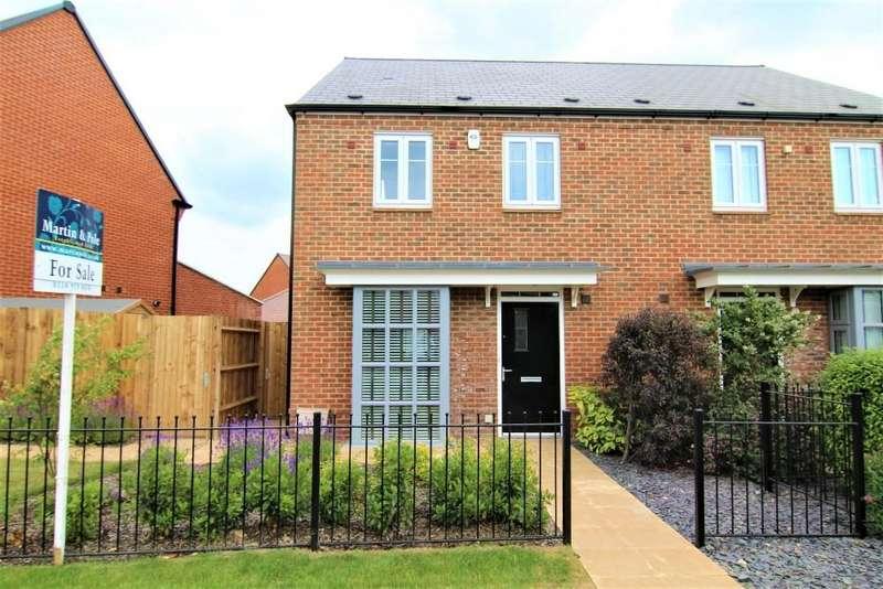 3 Bedrooms Semi Detached House for sale in William Heelas Way, Wokingham, Berkshire, RG40 1GL