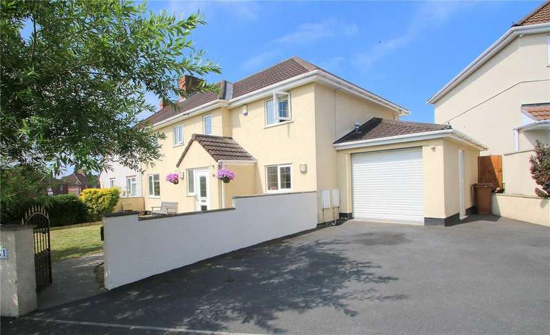 5 Bedrooms Semi Detached House for sale in Spring Gardens, Knowle Park, Bristol, BS4