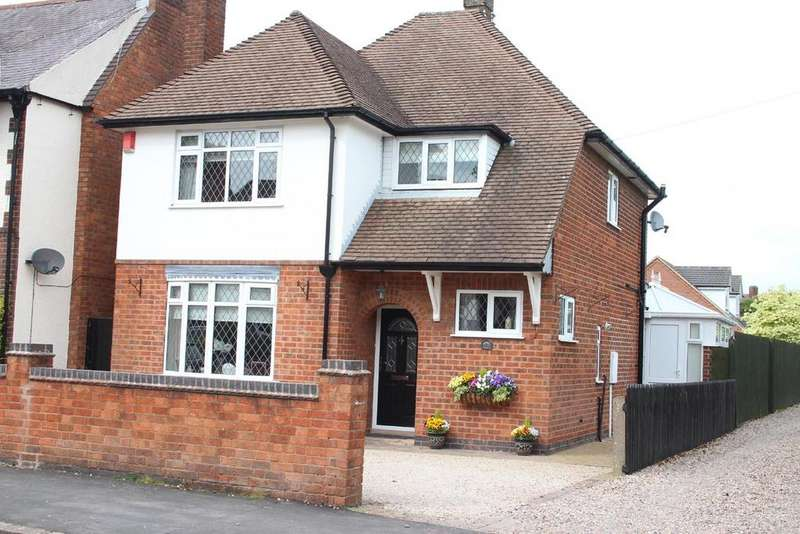 3 Bedrooms Detached House for sale in De Montfort Road, Hinckley