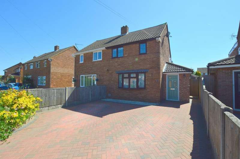 3 Bedrooms Semi Detached House for sale in Adstone Road, Caddington, LU1 4JF