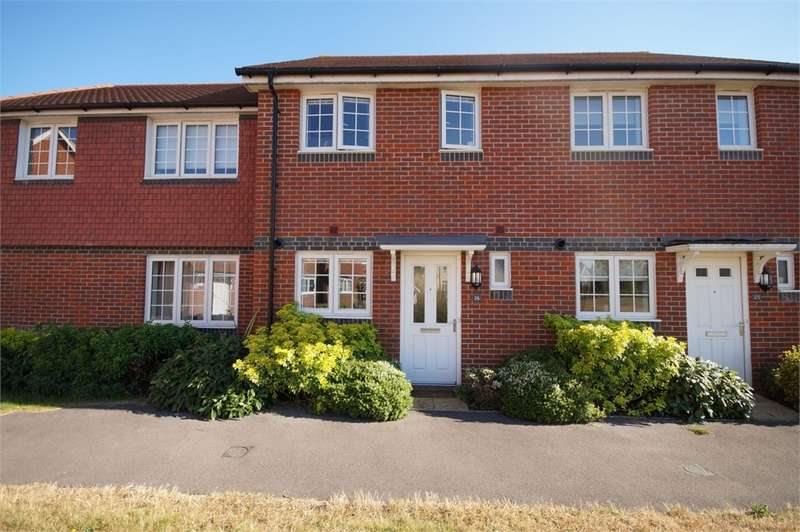 2 Bedrooms Terraced House for sale in Elk Path, Three Mile Cross, READING, Berkshire