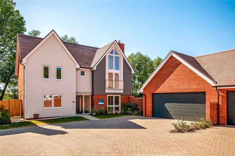 5 Bedrooms Detached House for sale in Oxlease Meadows, Romsey, Hampshire, SO51