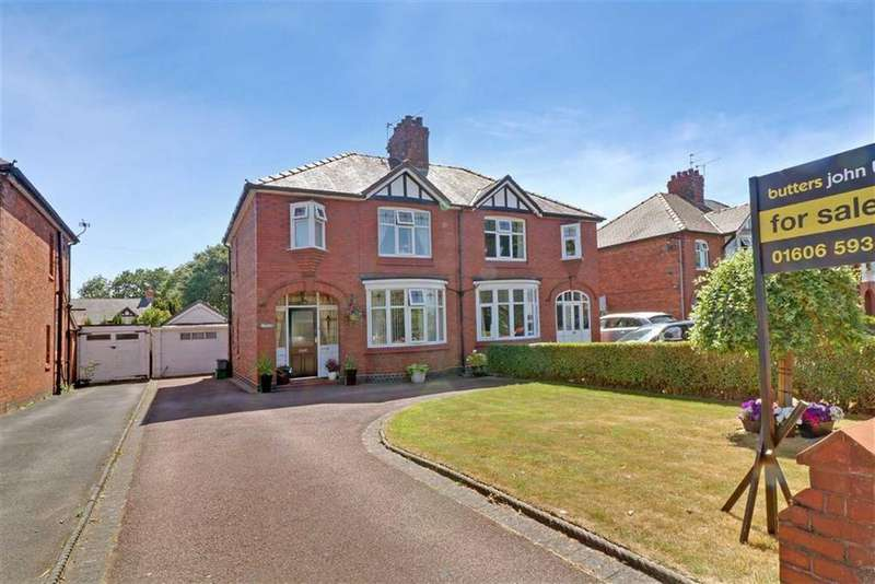 3 Bedrooms Semi Detached House for sale in Station Road, Winsford, Cheshire