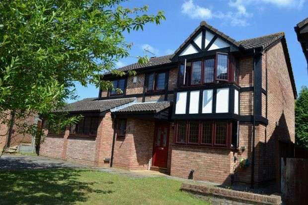 4 Bedrooms Detached House for sale in Osprey Rise, East Hunsbury, Northampton NN4 0TA