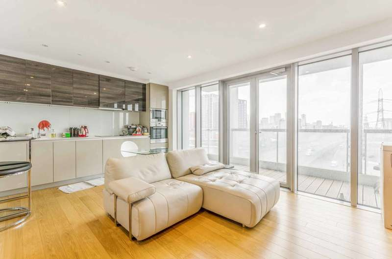 2 Bedrooms Flat for sale in Barking Road, Canning Town, E16