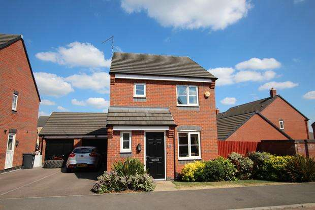 3 Bedrooms Detached House for sale in Long Swath Way, Birstall, Leicester, LE4