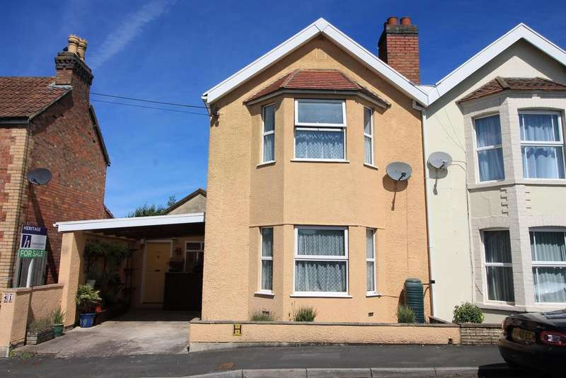 4 Bedrooms Semi Detached House for sale in Horsecastle Close, , Yatton, North Somerset