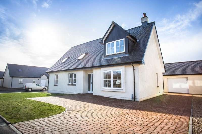 4 Bedrooms Detached Villa House for sale in Kinloch Court ('The Sanda' - Plot 1), Blackwaterfoot Isle of Arran, North Ayrshire, KA27 8EF