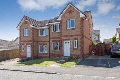 3 Bedrooms Semi Detached House for sale in Glenmuir Crescent, Glasgow, Lanarkshire