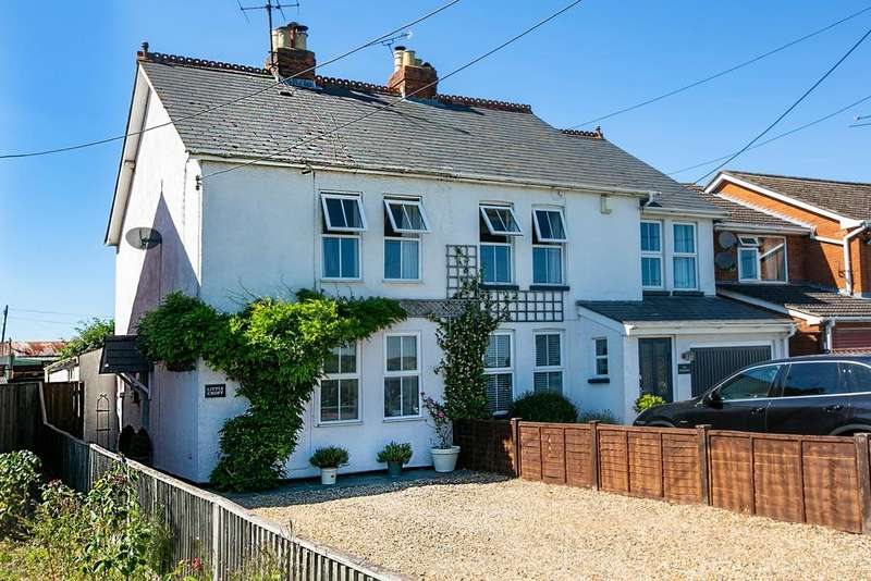 3 Bedrooms Semi Detached House for sale in Lambwood Hill, Reading