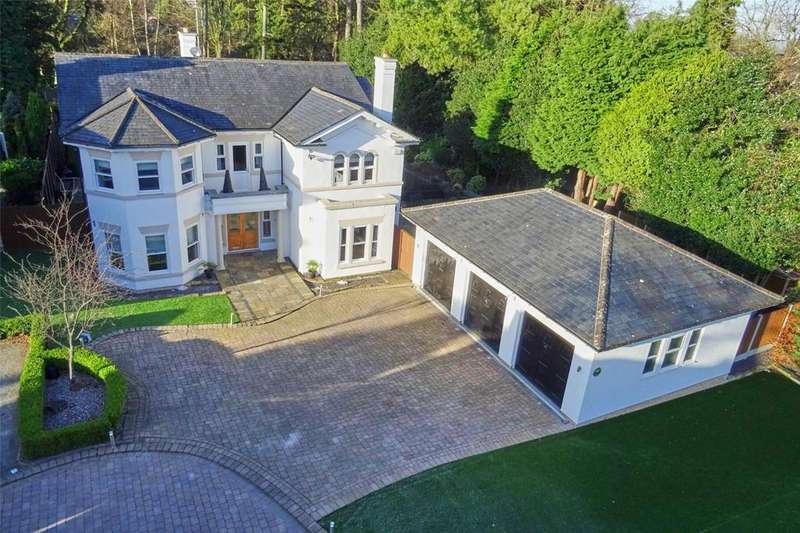 5 Bedrooms Detached House for sale in Allandale, Bradgate Road, Altrincham, WA14