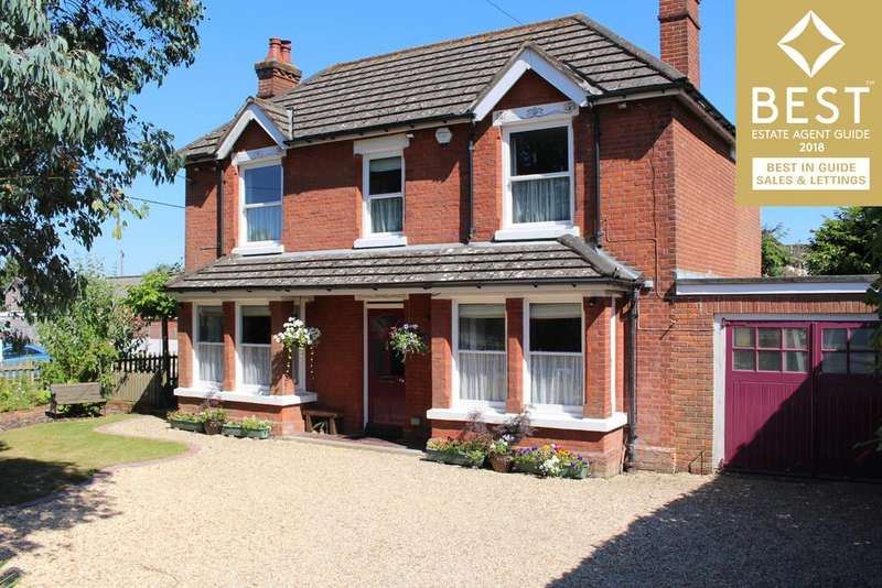 4 Bedrooms Detached House for sale in Beaulieu Road, Dibden Purlieu