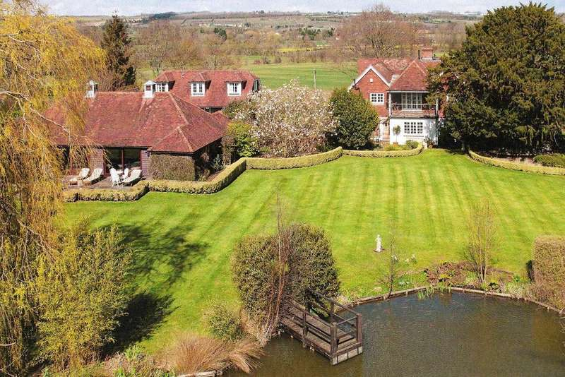 7 Bedrooms Detached House for sale in Dairy Lane, Chainhurst, Kent, TN12 9ST