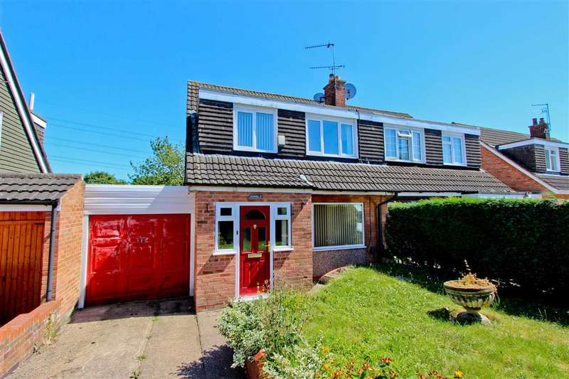 3 Bedrooms Semi Detached House for sale in Millfield Close, Anstey, Leicester