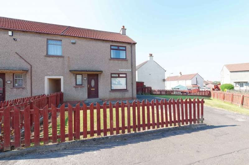 2 Bedrooms End Of Terrace House for sale in Pentland Road, Bellfield, Kilmarnock, East Ayrshire, KA1 3RU