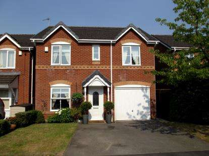 4 Bedrooms Detached House for sale in Latham Avenue, Newton-Le-Willows, Merseyside