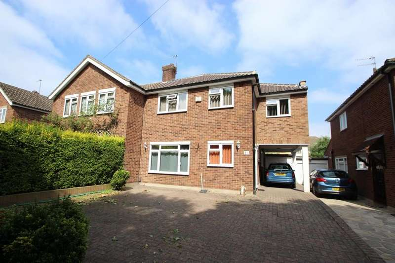 4 Bedrooms Semi Detached House for sale in Upminster, RM14