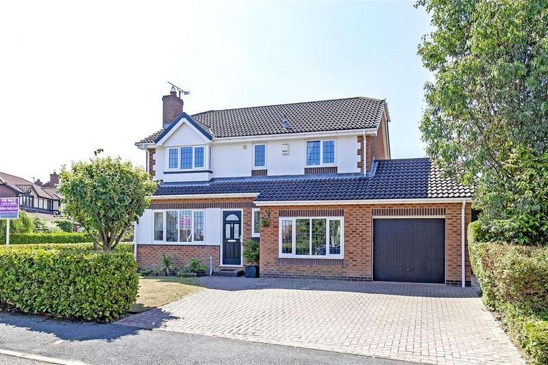 4 Bedrooms Detached House for sale in Lodge Farm Close, Walton, Chesterfield