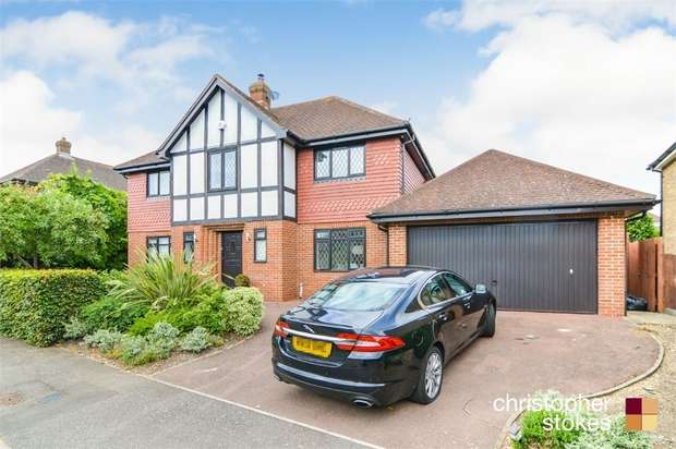 5 Bedrooms Detached House for sale in Richardson Crescent, Cheshunt, Cheshunt, Hertfordshire