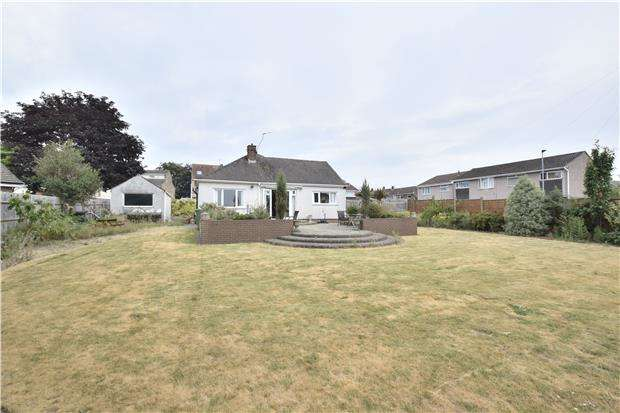 3 Bedrooms Detached Bungalow for sale in Hunters Close, Hanham, BS15 3EY