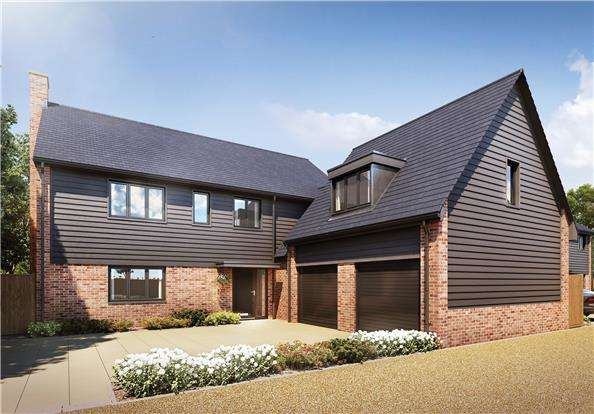 5 Bedrooms Detached House for sale in Plot 4, Orwell Gardens, Sutton Courtenay, OX14 4BT
