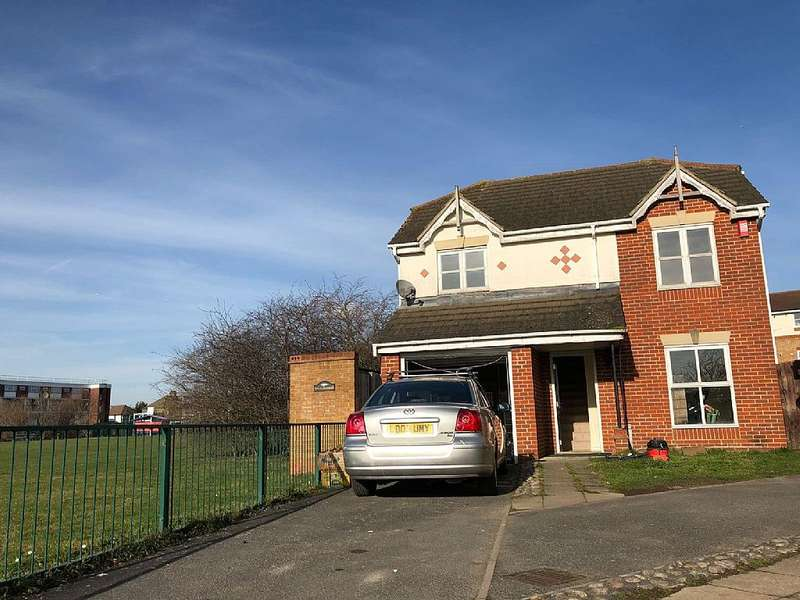 4 Bedrooms Detached House for sale in Neptune Close, Rainham, London, RM13 8SY