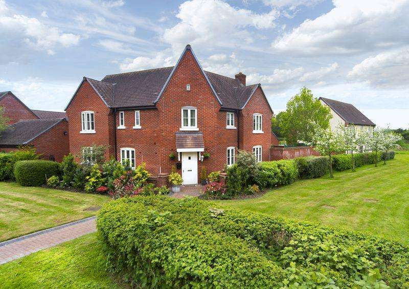 5 Bedrooms Detached House for sale in Stocking Park Road, Telford