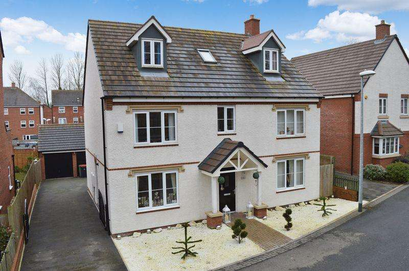 5 Bedrooms Detached House for sale in The Dingle, Doseley, Telford, Shropshire.