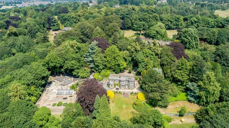5 Bedrooms Detached House for sale in Cliffe House and Cottage, Cragg Wood Drive, Rawdon, West Yorkshire, LS19