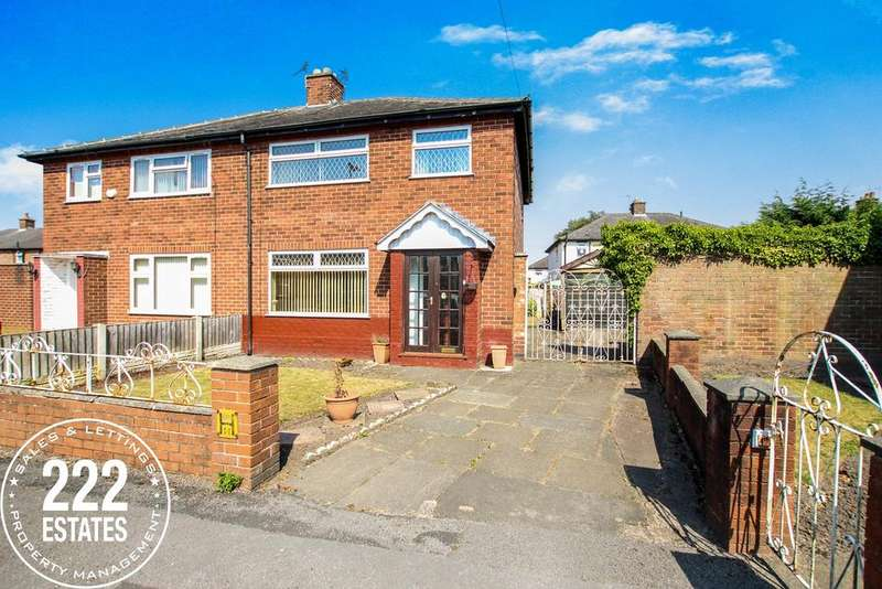3 Bedrooms Semi Detached House for sale in Dagnall Avenue, Warrington, WA5