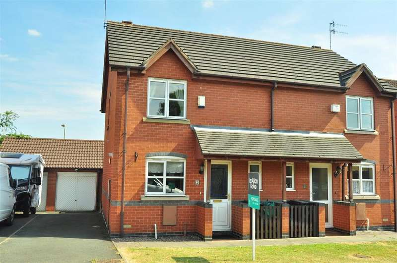 3 Bedrooms Semi Detached House for sale in Amphletts Close, Netherton