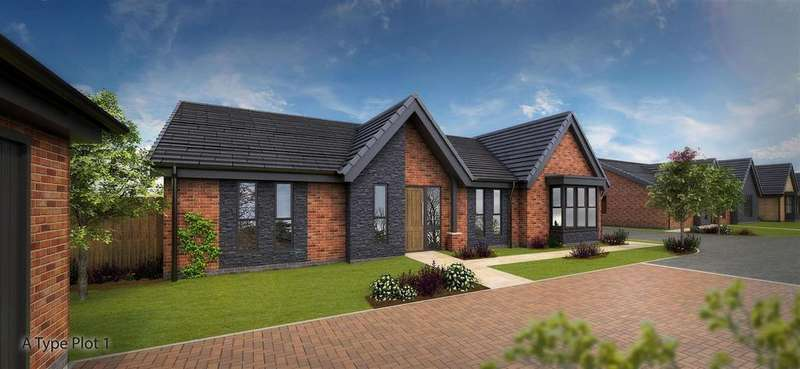 4 Bedrooms Detached Bungalow for sale in Plot 1 'Welbeck', Mapletree Meadows, Off Skegby Lane, Mansfield