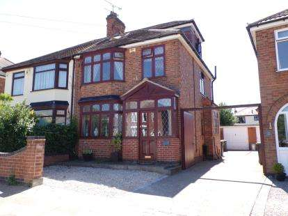 4 Bedrooms Semi Detached House for sale in Paigle Road, Aylestone, Leicester, Leicestershire