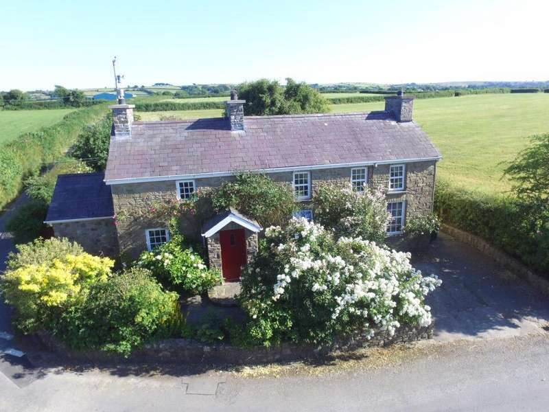 3 Bedrooms Cottage House for sale in Pencae, Llanarth, Near New Quay