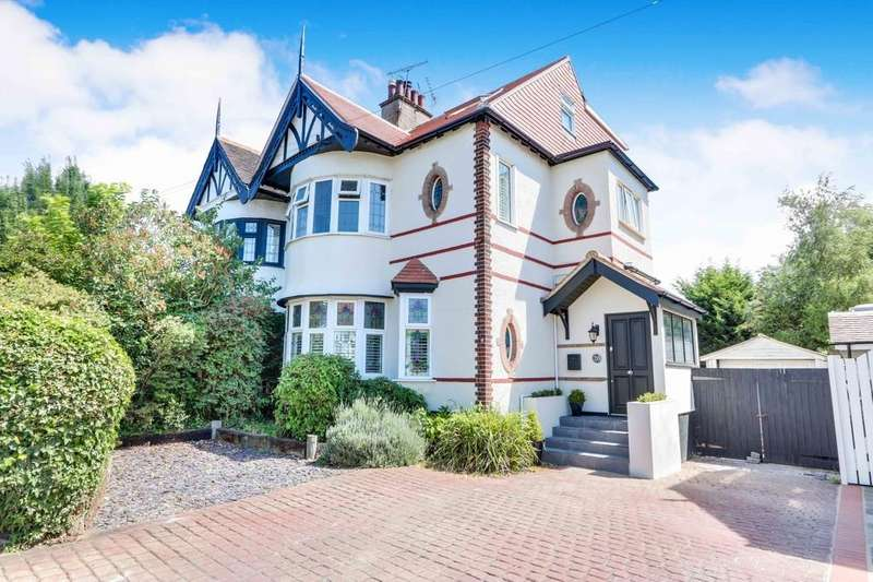 4 Bedrooms Semi Detached House for sale in Thames Drive, Leigh-on-Sea