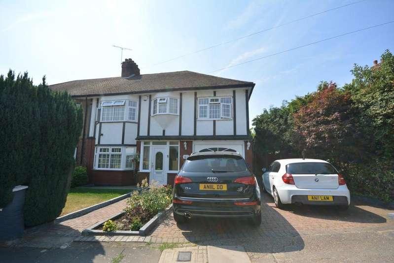 4 Bedrooms Semi Detached House for sale in The Ridgeway, Harold Wood, Romford RM3