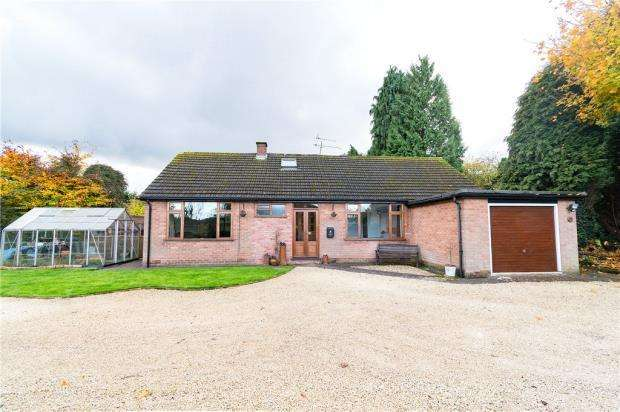 4 Bedrooms Detached Bungalow for sale in Townsend Croft, Styvechale, Coventry, West Midlands