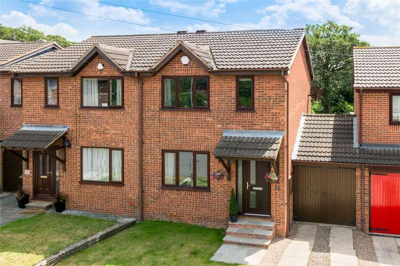 3 Bedrooms Semi Detached House for sale in Rydale Court, Ossett, West Yorkshire