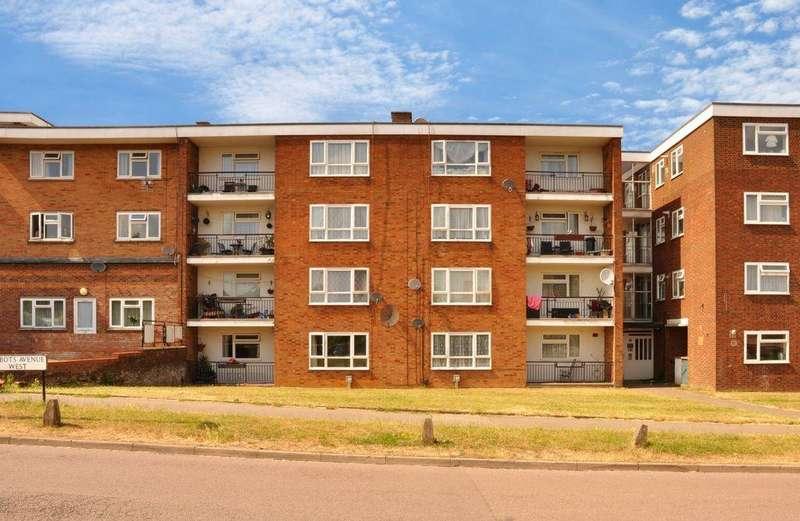 2 Bedrooms Maisonette Flat for sale in Abbotts Avenue West, St Albans, AL1