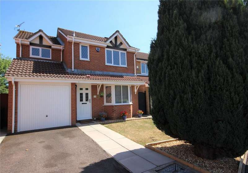 4 Bedrooms Detached House for sale in Great Meadow Road, Bradley Stoke, Bristol, BS32