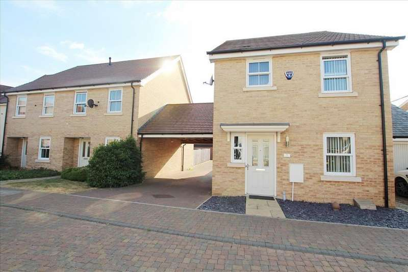 3 Bedrooms Detached House for sale in Mars Drive, Biggleswade, SG18
