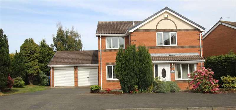 4 Bedrooms Detached House for sale in Cheadle Avenue, Northburn Dale, Cramlington