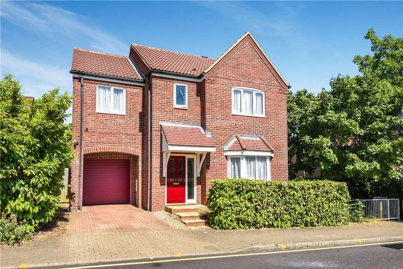 4 Bedrooms Detached House for sale in Redwood Gate, Shenley Lodge, Milton Keynes