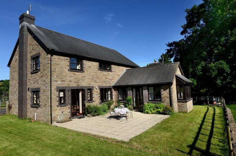 4 Bedrooms Detached House for sale in Longtown, Hereford, HR2