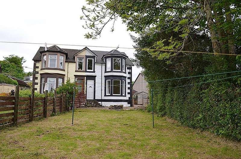 3 Bedrooms Semi Detached House for sale in Ardenslate Road, Kirn, Dunoon, PA23 8HZ