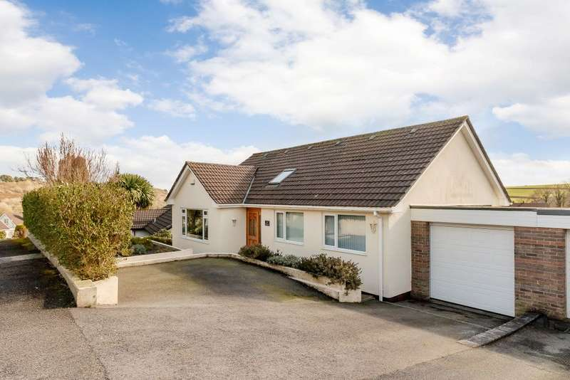 5 Bedrooms Detached House for sale in Springfield Close, Polgooth, St Austell, PL26 7BB