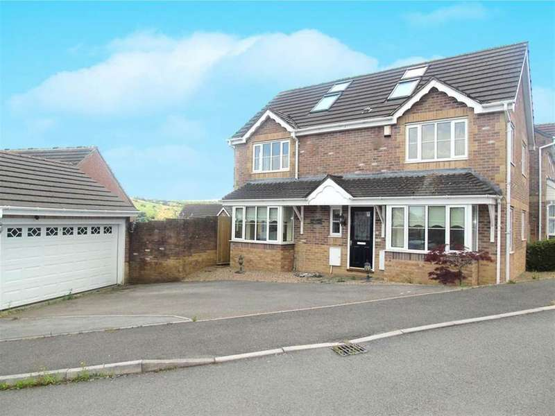5 Bedrooms Detached House for sale in Cedar Wood Drive, Tonyrefail, Porth