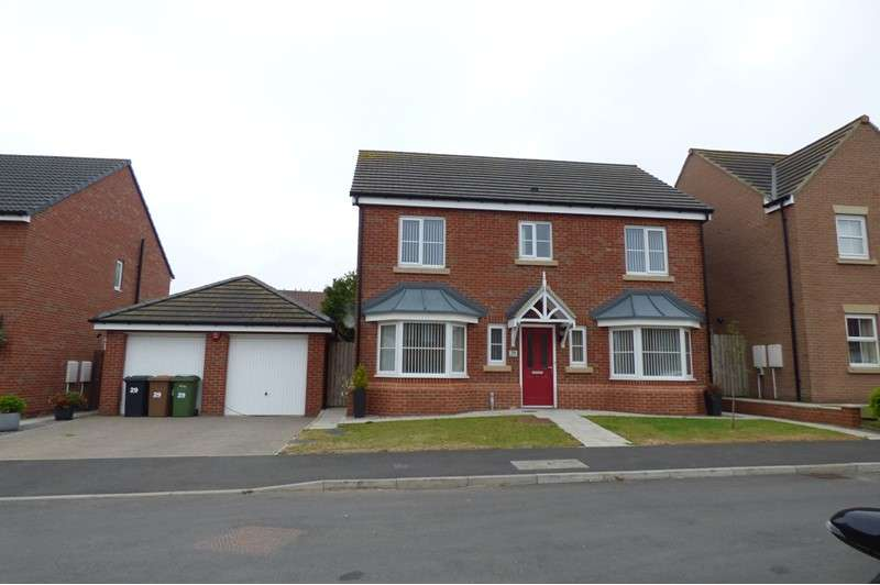 4 Bedrooms Property for sale in Carnoustie Close, Ashington, Northumberland, NE63 9GB