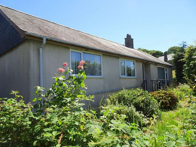 3 Bedrooms Detached Bungalow for sale in Machlud, Minffordd, Penrhyndeudraeth LL48