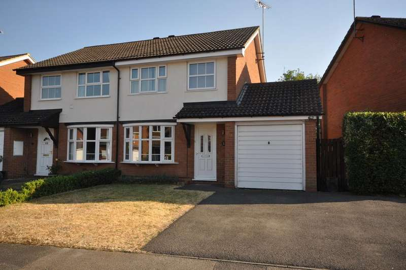 3 Bedrooms Semi Detached House for sale in Hawker Way, Woodley, Reading, RG5 4PF
